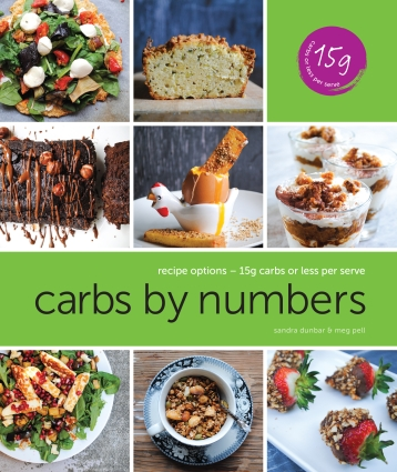 carbs by numbers recipe book