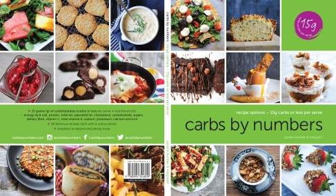 carbs by numbers recipe book covers
