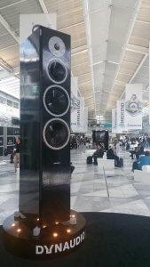 Giant Lego replica loudspeaker