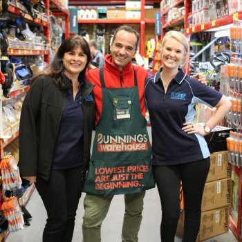 Blueprint Group field employees from Ausrep at Bunnings