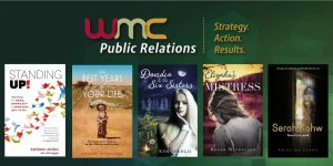 books promoted by WMC PR for authors
