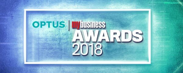 My Business awards logo