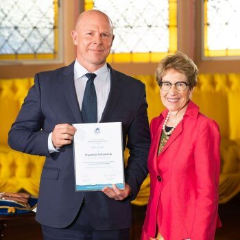Peter Carter from GS1 Australia received a Churchill Fellowship