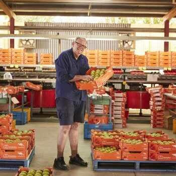 Scott Ledger-Manbulloo packhouse where whole of chain tracking implemented