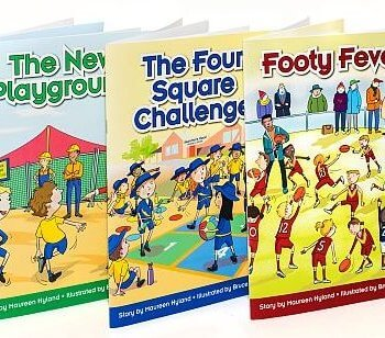 Pat Cronin Foundation story books to end the Coward Punch