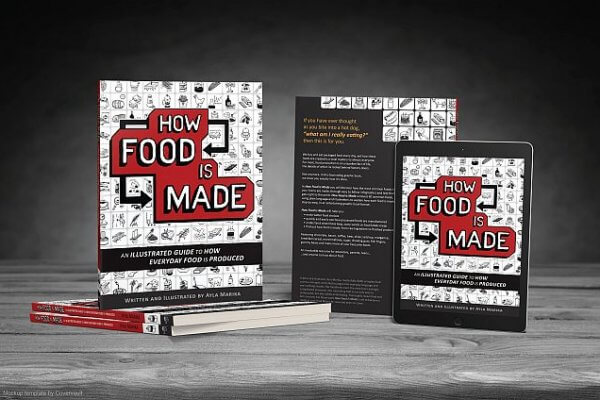 Book publicity for How Food is Made