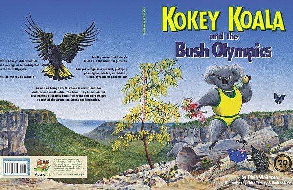 Kokey Koala and the Bush Olympics book covers